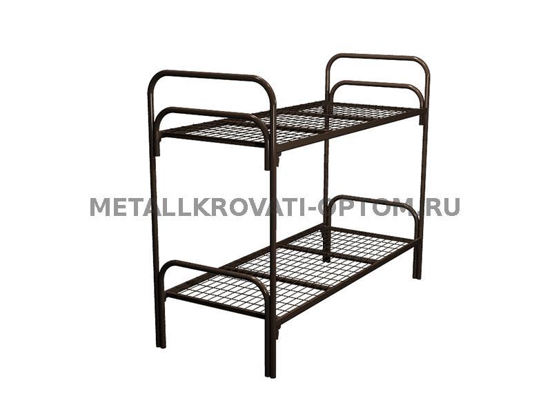 Двухъярусные металлические кровати   русмебель