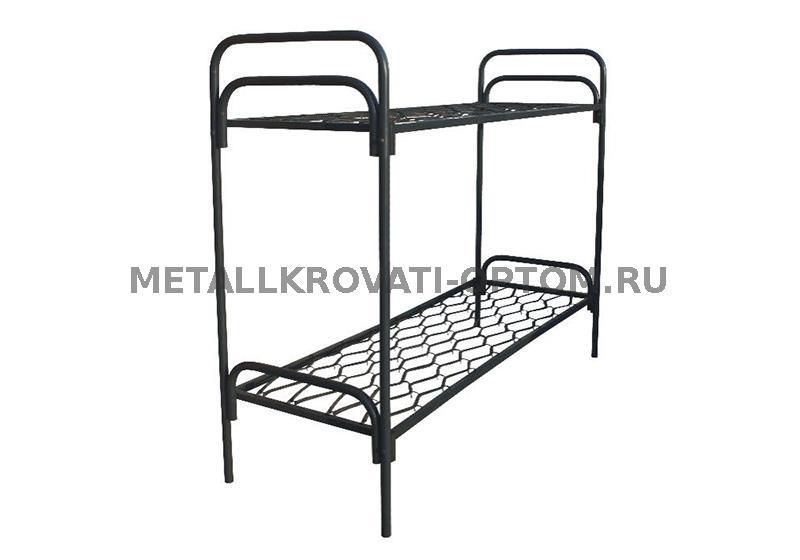 Кровати двухъярусные металлические для общежитий